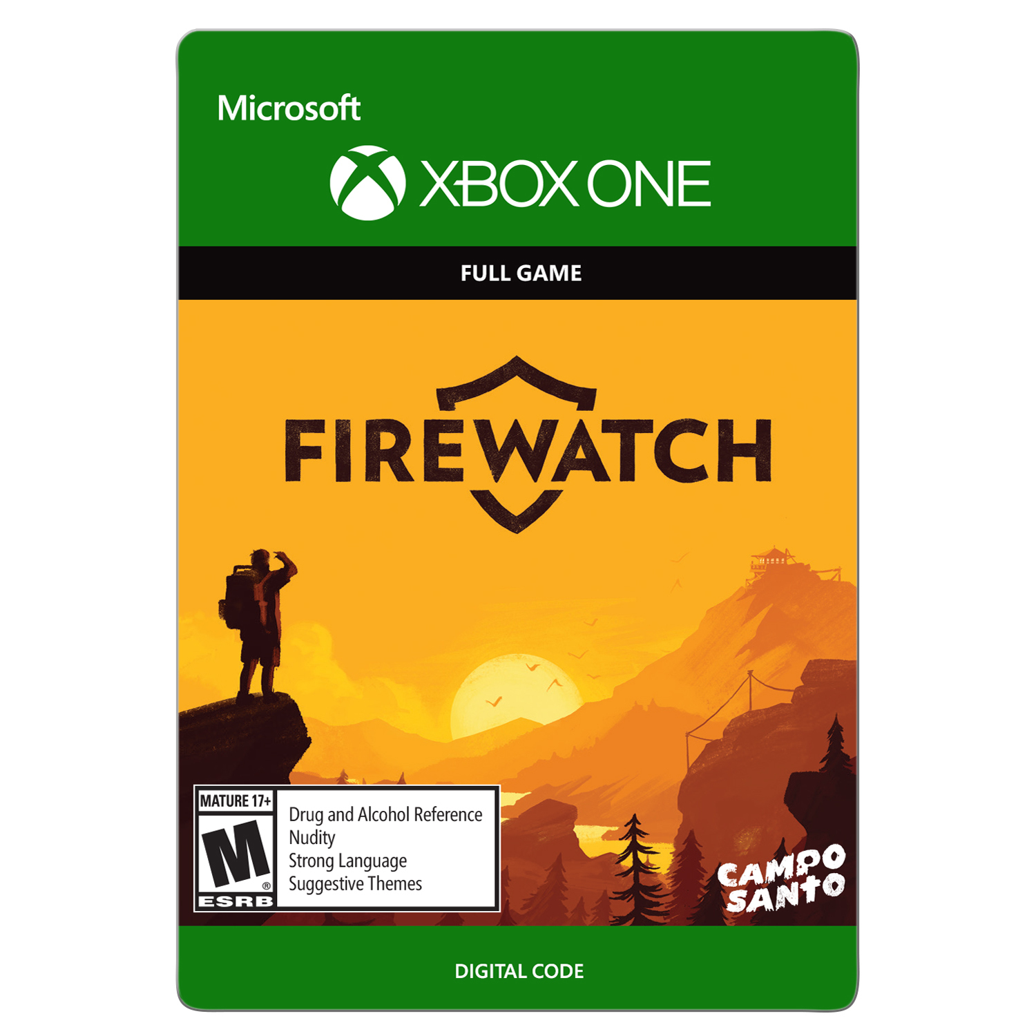 Xbox One Firewatch (Email Delivery)
