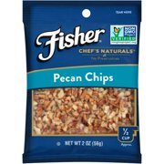 Fisher Chef's Naturals Pecan Chips, 2 oz