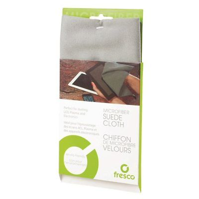 """Fresco Microfiber Suede Electronics Cleaning & Dusting Cloth - 12"""" x 14"""""""