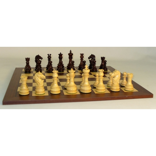 WorldWise Chess Set with Rosewood Maple Board 40RLOT-DR by