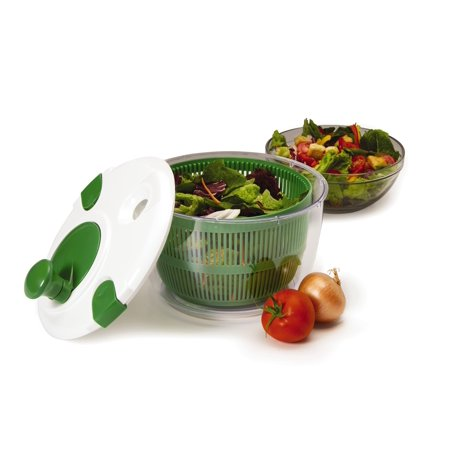 Farberware Professional Salad Spinner Fresh Green With White