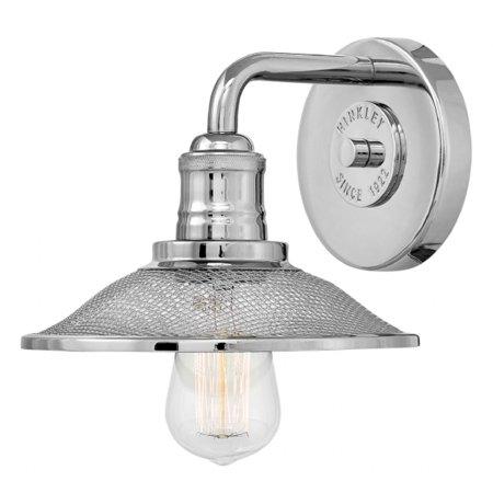 - Rigby 1-Light Vanity Light in Polished Nickel