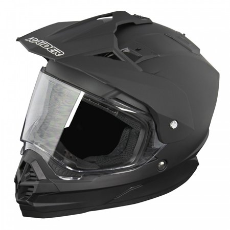 Adult Raider Edge Dual Sport Helmet MX ATV Dirt Bike Off Road Motorcycle DOT