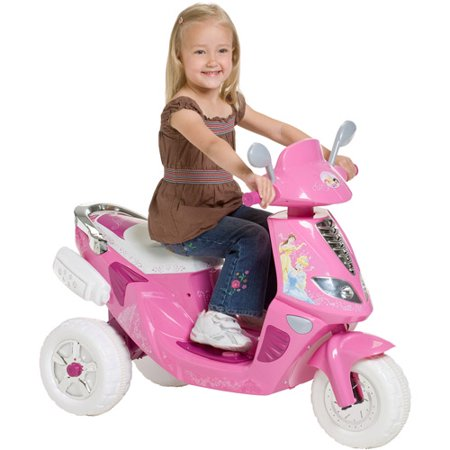 Kid trax 6v princess scooter for 6v lampen moped