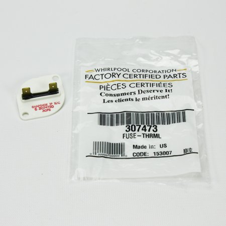 WP307473 For Maytag Clothes Dryer Thermal Fuse