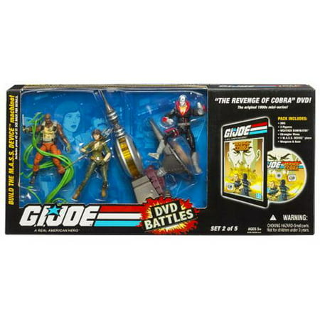 GI Joe DVD Battles Revenge of Cobra Action Figure Set (Party City Joe Battle)