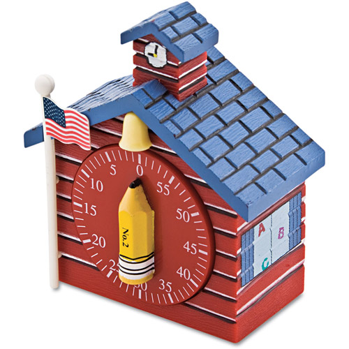 Baumgartens Red School House Shaped Timer