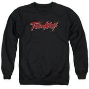 Teen Wolf Scrawl Logo Mens Crewneck Sweatshirt