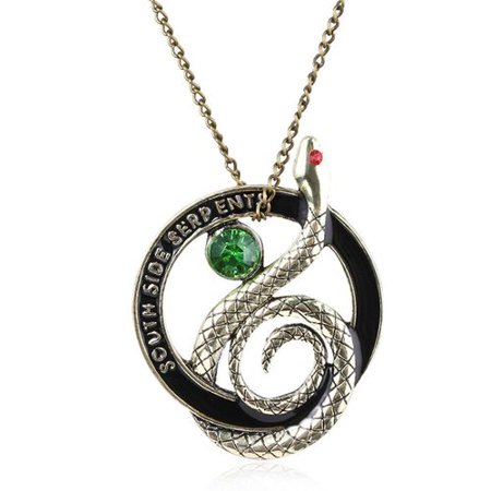 KABOER Vintage Southside Serpent Necklace Pendant Necklace For Men Women Christmas Valentine Jewelry Gift