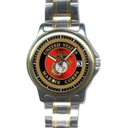 US Marines Slim Steel Watch