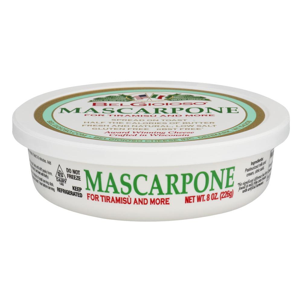 BelGioioso Mascarpone Cream Cheese Spread, 8.0 OZ
