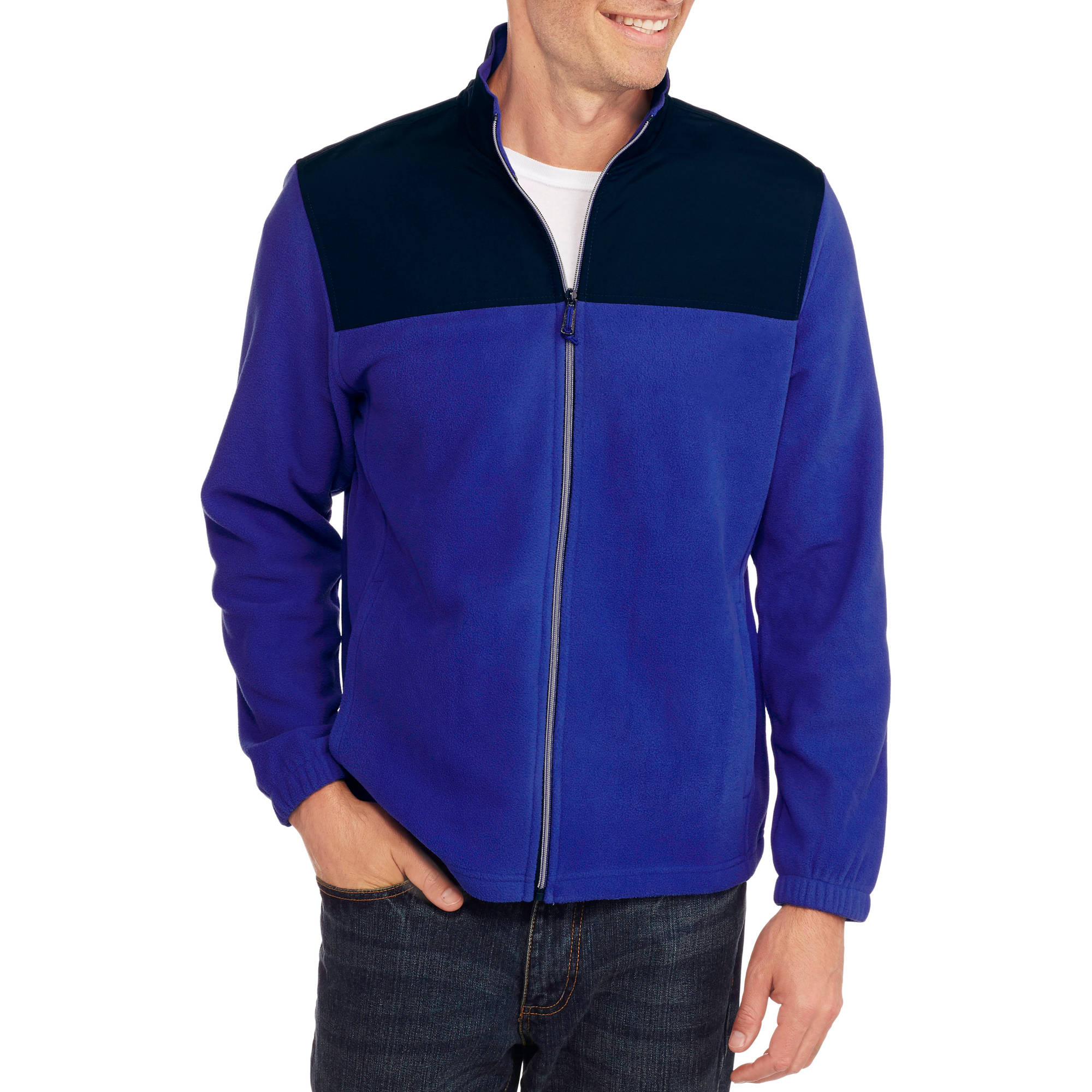 Starter Men's Winter Full Zip Fleece Jacket
