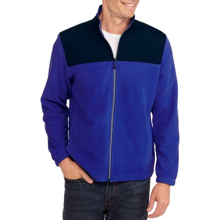 Starter Men's Winter Full Zip Fleece Jacket - Walmart.com
