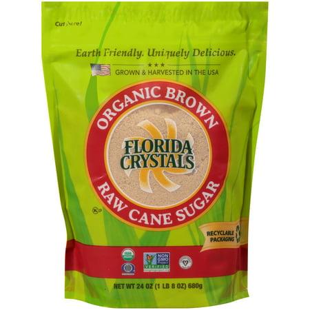 Florida Crystals Organic Brown Sugar 24 Oz. Substitutes Brown Sugar