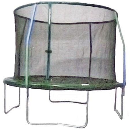 10' Round Trampoline With Steel Flex Enclosure