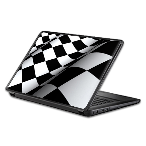 MightySkins Protective Vinyl Skin Decal Wrap for Universal Laptop Apple Asus Acer Dell Lenovo Sony Toshiba 11 13 15 17 sticker cover Checkered Flag