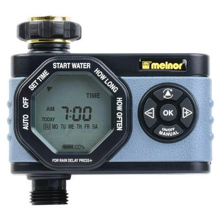 Melnor Inc. Hydrologic 1-Zone Digital Water Timer (Hydrologic 4 Zone Digital Water Timer Manual)