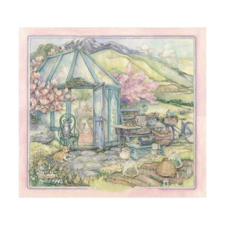Spring Conservatory Print Wall Art By Kim Jacobs