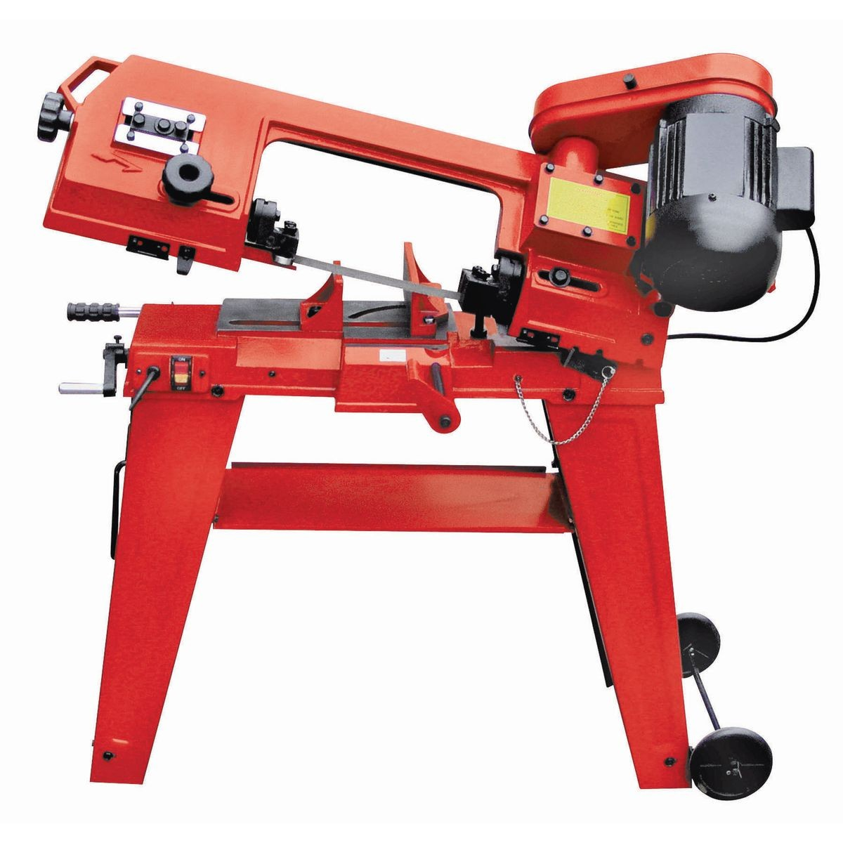 1 HP 4 in. x 6 in. Horizontal Vertical Metal Cutting Band Saw by