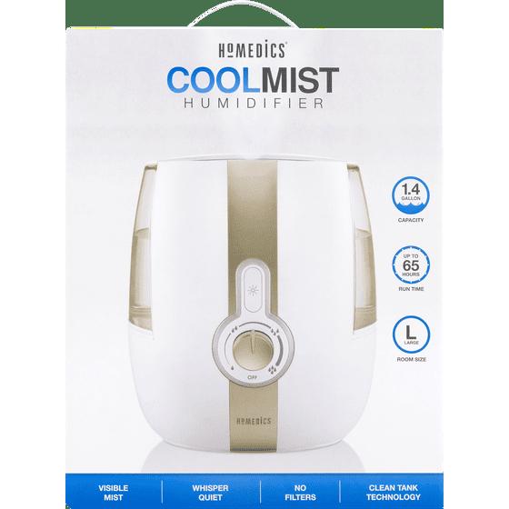 Homedics Cool Mist Ultrasonic Humidifier Uhe Cm65 Walmart