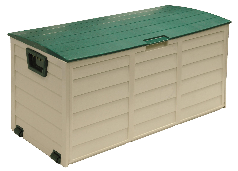 60 Gallon Deck Box, Beige Green by Starplast