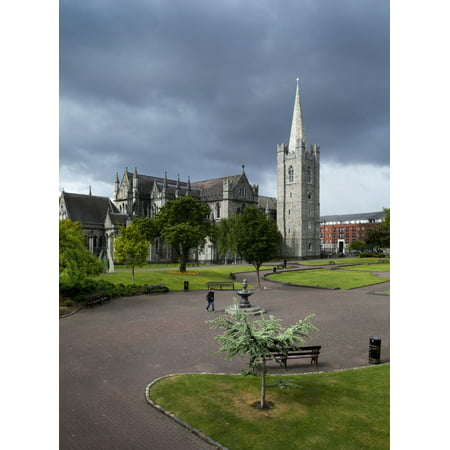 St Patricks Cathedral Dublin Ireland Poster Print