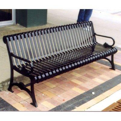 Petersen Mancos Steel Commercial Park Bench