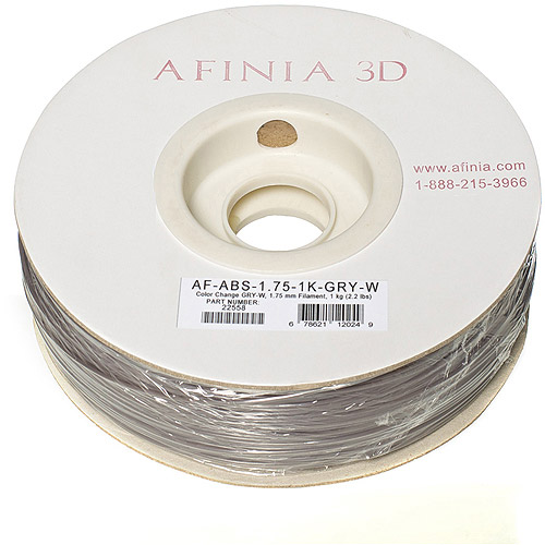 Image of AFINIA Value-Line ABS Filament for 3D Printers, Color-Changing (Blue-Green to Yellow-Green)