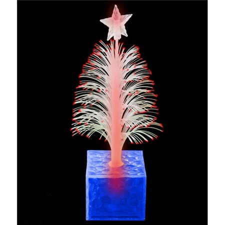 Blinkee CTFOCO-BL Christmas Tree Fiber Optic Centerpiece, Blue