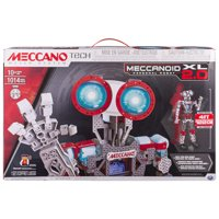 Meccano by Erector Meccanoid XL 2.0 Robot-Building Kit, STEM Engineering Education Toy, 1014 Parts