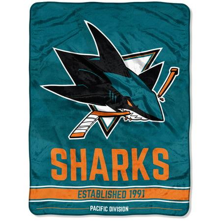San Jose Sharks The Northwest Company 40 X 40 Break Away Micro Extraordinary The Northwest Company Throw Blankets