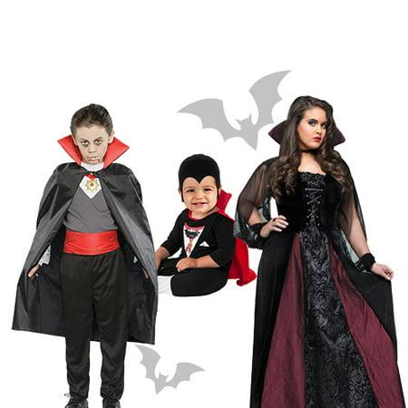 Vampire Costumes - Vampire Couple Halloween Costumes
