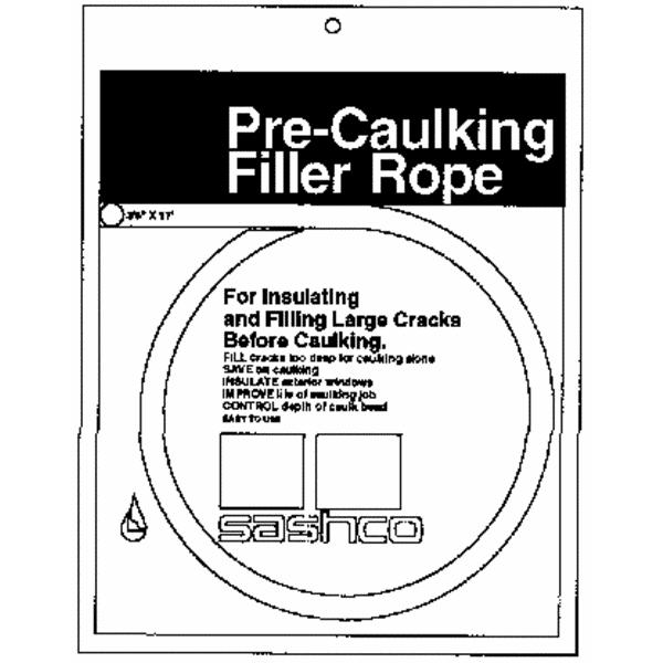 Sashco Pre-Caulking Backer Rod