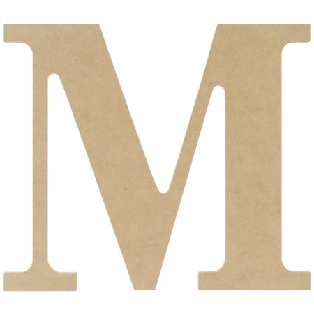 Mdf classic font wood letters numbers 9 5 m for Furniture 5 letters