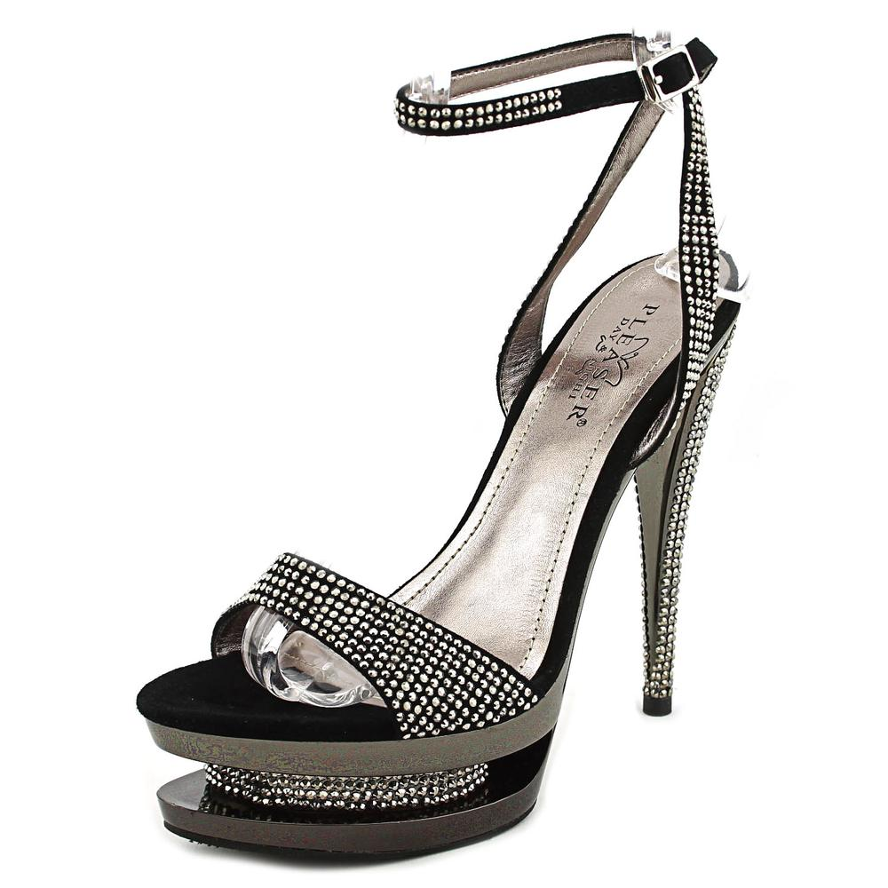 Pleaser Fascinate   Open Toe Suede  Platform Heel