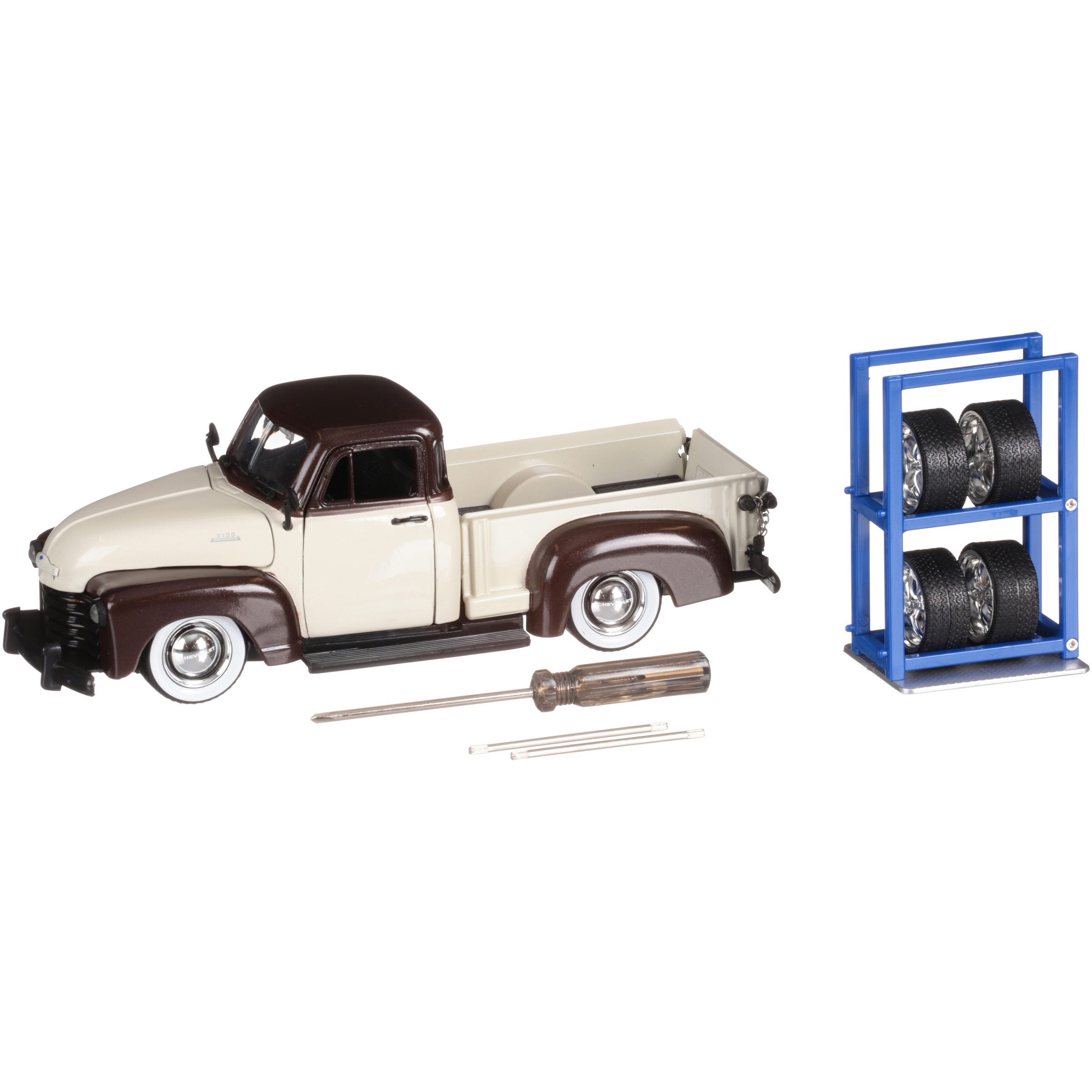 Jada® Just Trucks® Die Cast Collection 1953 Chevy® Pickup Toy Car Set 9 pc Box