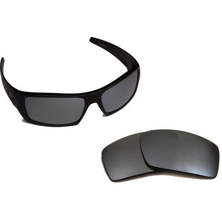 Replacement Lenses Compatible with OAKLEY Gascan Non-Polarized Black (Oakley Gascan Sunglasses Matte Black Ruby Iridium)