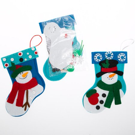 Snowman Stocking Craft Kits - Snowman Kit