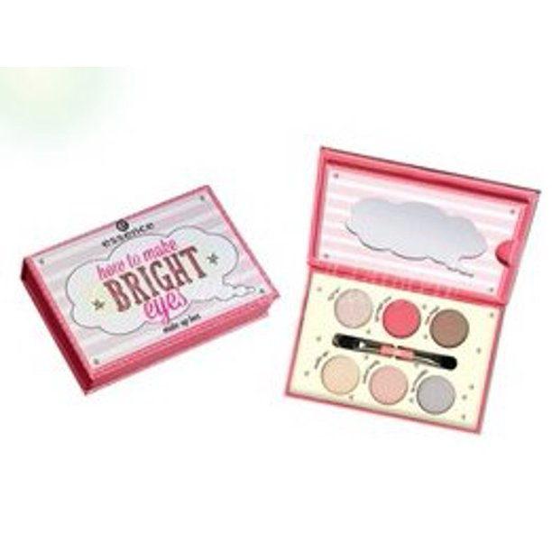 Essence How To Make Bright Eyes Makeup