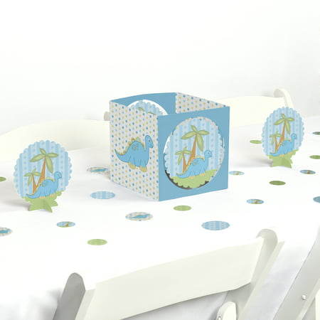 Baby Boy Dinosaur - Baby Shower Party Centerpiece & Table Decoration Kit](Dinos Party Center)