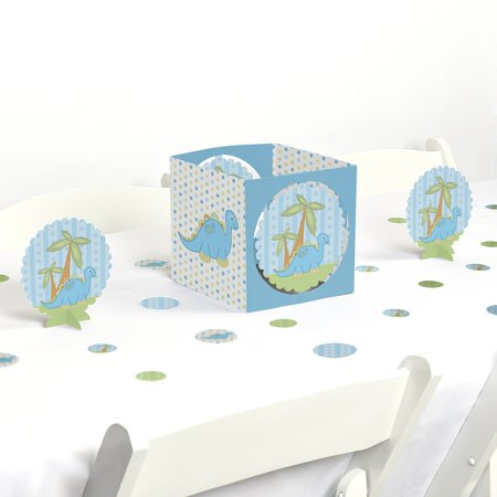 Baby Boy Dinosaur - Baby Shower Party Centerpiece & Table Decoration - Boy Baby Shower Kits