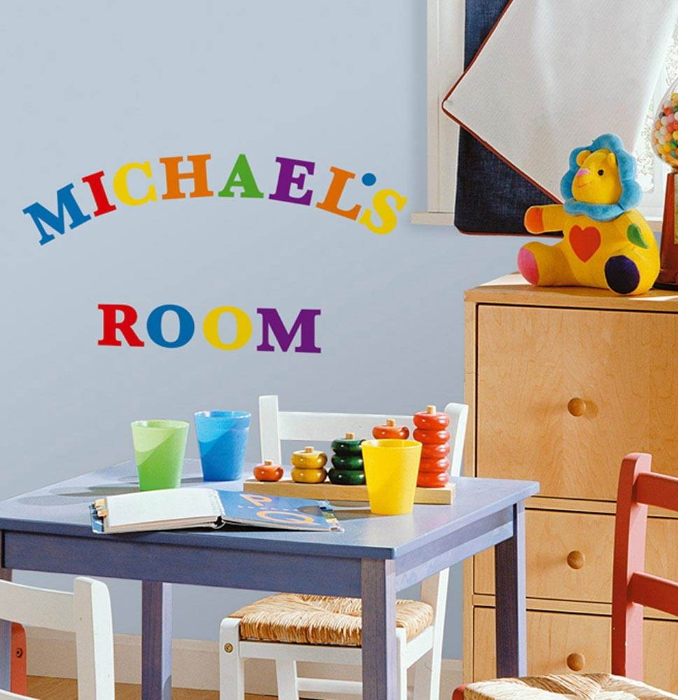 Express Yourself Alphabet Wall Decals