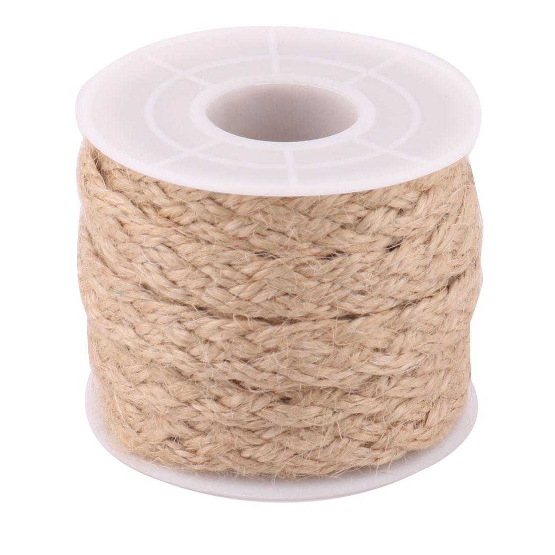 Party Burlap DIY Sewing Wrapping Ribbon String Roll Rope Decor Khaki 5.5 Yards