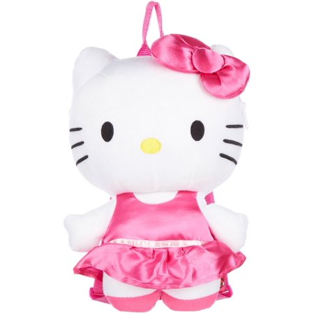 Plush Backpack - Hello Kitty - Satin Pink Dress 15