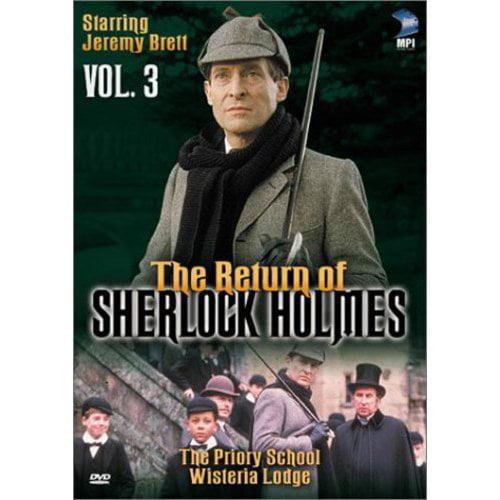 The Return Of Sherlock Holmes, Vol. 3: The Priory School / Wisteria Lodge (Full Frame)