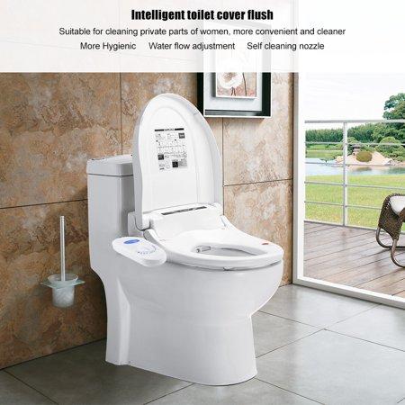 Garosa Bathroom Bidet Seat,Bathroom Toilet Hygienic Bidet Seat Attachment Self Cleaning Nozzle Adjustable Water Flow,Bidet Seat Attachment - image 1 of 9