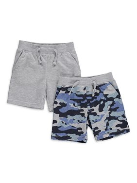 Freestyle Revolution Toddler Boys Knit Shorts, 2-Pack (2T-4T)