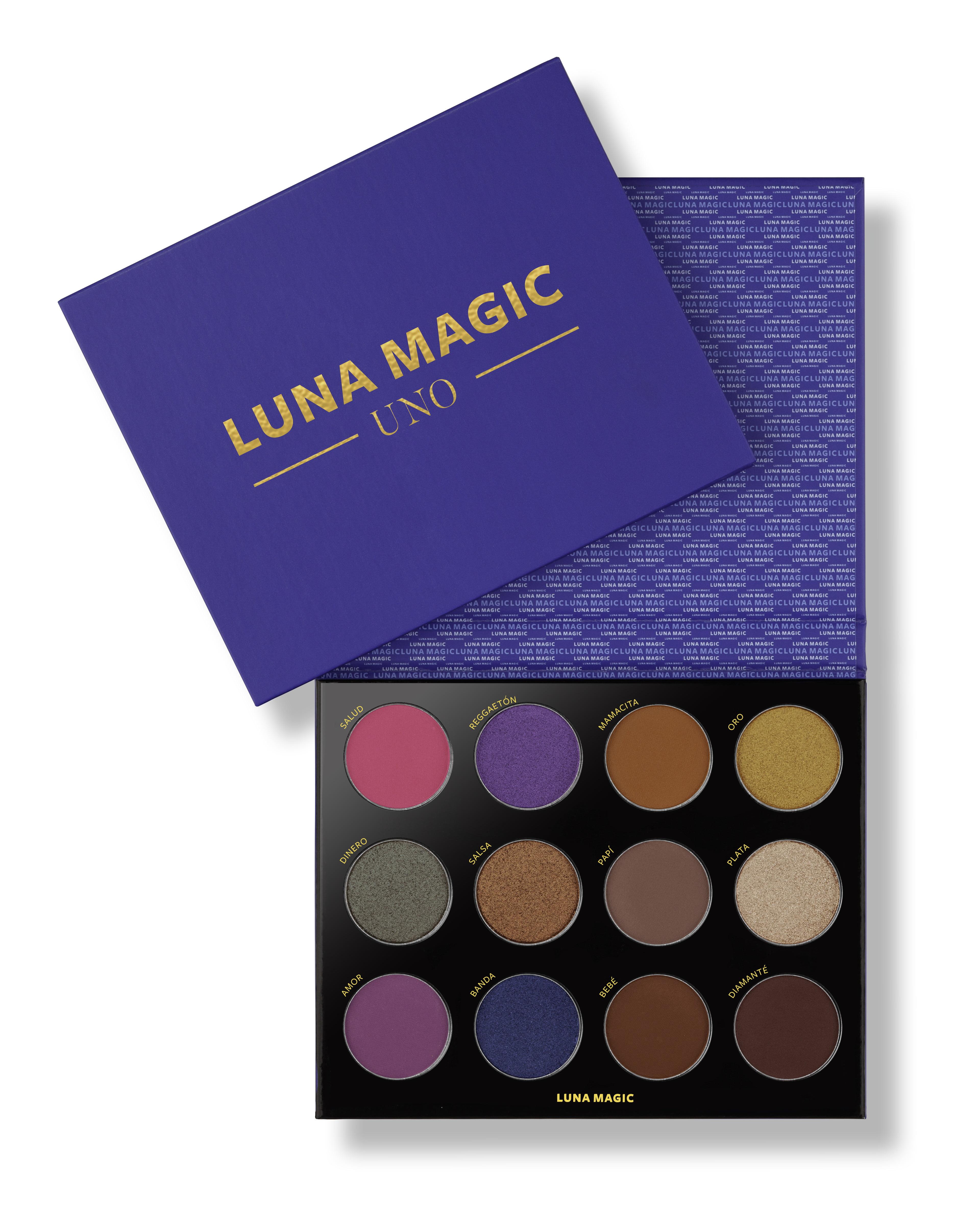 Luna Magic Eyeshadow Makeup Palette 12