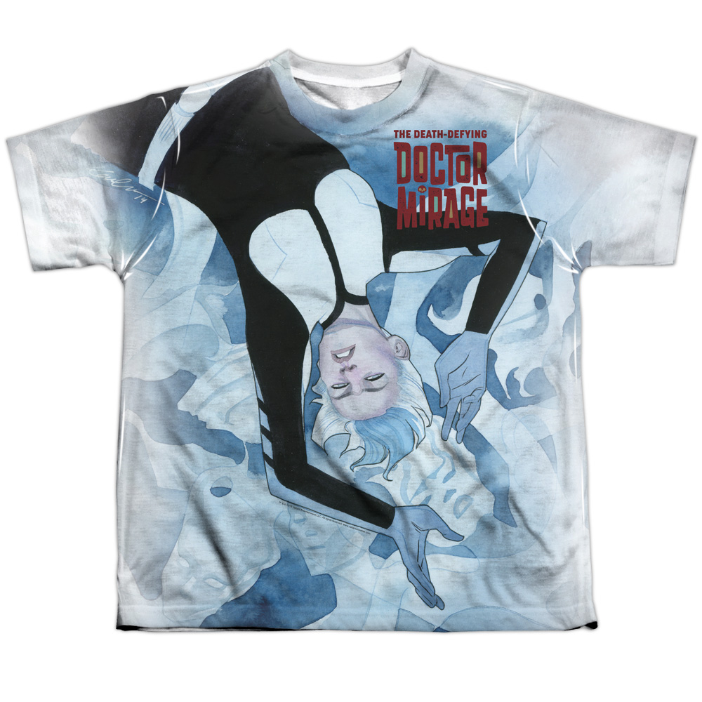 Doctor Mirage Ghosts Big Boys Sublimation Shirt