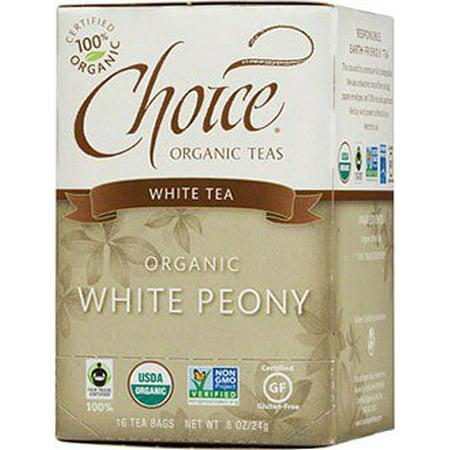 Choice Tea - White Peony Choice Organic Teas 16